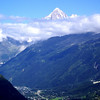 walking through La Vanoise : following the GR5 - Chamonix to Modane, via the Parc national de la Vanoise (Croix du Bonhomme-Lac de Tignes-Modane).
